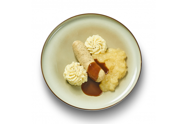 WITTE PENS APPELMOES PUREE